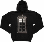 Doctor Who TARDIS Follow Me Hoodie