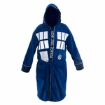 Doctor Who TARDIS Front Terrycloth Robe