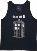 Doctor Who TARDIS Graphic Tank Top