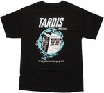 Doctor Who TARDIS Industries T Shirt
