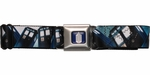 Doctor Who Tardis Montage Seatbelt Mesh Belt