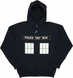 Doctor Who TARDIS Windows Hoodie