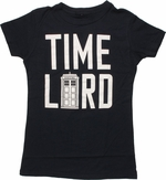 Doctor Who Time Lord TARDIS Baby Tee