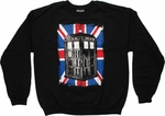 Doctor Who Union Jack TARDIS Sweatshirt