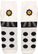 Doctor Who White Dalek Arm Warmers Fingerless Gloves