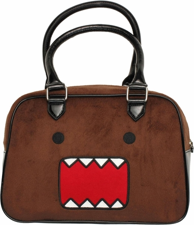 Domo Kun Furry Handbag