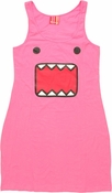 Domo Kun Pink Tank Top Dress