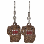 Domo Kun Sparkle Salute Earrings