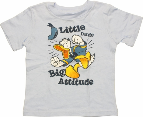 Donald Duck Big Attitude Infant T-Shirt
