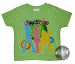 Doodlebops Green Toddler T-Shirt