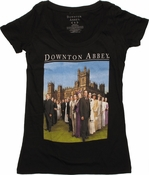Downton Abbey Cast Photo Baby Tee