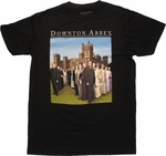 Downton Abbey Cast Photo T Shirt