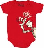 Dr Seuss Cat Hat Doff Snap Suit