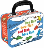 Dr Seuss Fish Tin Lunch Box