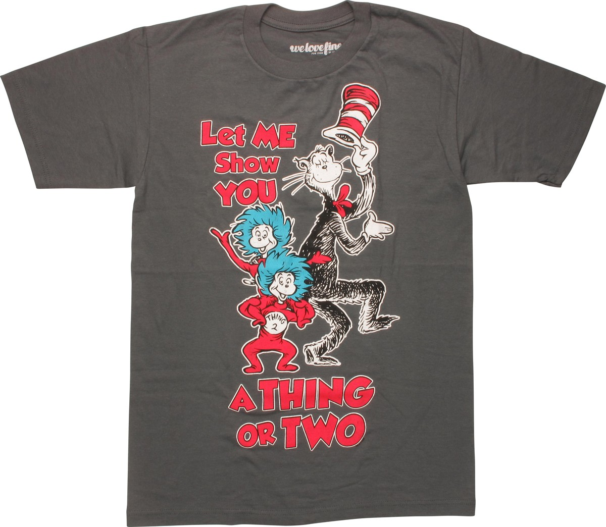 dr seuss show you a thing or two t shirt