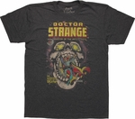 Dr Strange Meets Death T-Shirt Sheer