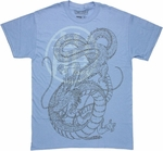 Dragon Ball Z Inked Shenron T Shirt
