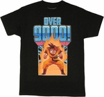 Dragon Ball Z Over 9000 T Shirt