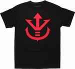 Dragon Ball Z Saiyan Crest T Shirt