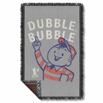 Dubble Bubble Pointing Throw Blanket
