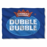 Dubble Bubble Vintage Logo Pillow Case