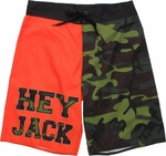 Duck Dynasty Hey Jack Two Color Shorts