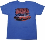 Dukes of Hazzard General Lee T Shirt Sheer