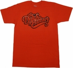 Dukes of Hazzard Logo T Shirt Sheer