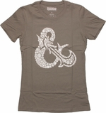 Dungeons and Dragons Dice Ampersand Baby Tee