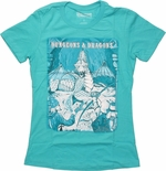 Dungeons and Dragons Dragon Art Baby Tee