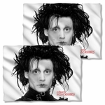 Edward Scissorhands Heads Up FB Pillow Case