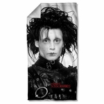 Edward Scissorhands Heads Up Towel
