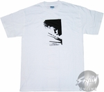 Edward Scissorhands Profile White T-Shirt