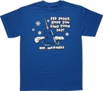Elf Mr. Narwhal T Shirt
