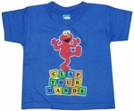 Elmo Clap Your Hands Kids T-Shirt