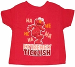Elmo Extremely Ticklish Juvenile T-Shirt