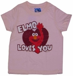 Elmo Loves You Kids T-Shirt