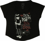 Emily the Strange Not Me Ladies Tee