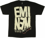 Eminem Recovery Big Letters T Shirt
