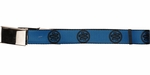 Ender's Game Asp Army Logo Blue Mesh Belt