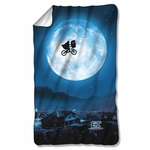 ET Moon Fleece Blanket