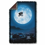 ET Moon Throw Blanket