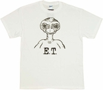 ET Outline T-Shirt
