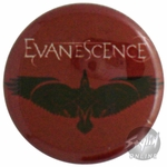 Evanescence Bird Button