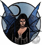 Fairy Black Crescent Patch