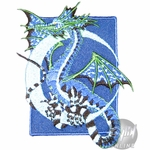 Fairy Dragon Moon Patch