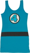 Fantastic Four Costume Tank Top Dress