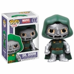 Fantastic Four Dr Doom Pop Marvel Vinyl Bobblehead