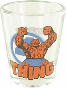 Fantastic Four Thing Mini Toon Tumbler Shot Glass