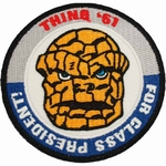 Fantastic Four Thing President Patch